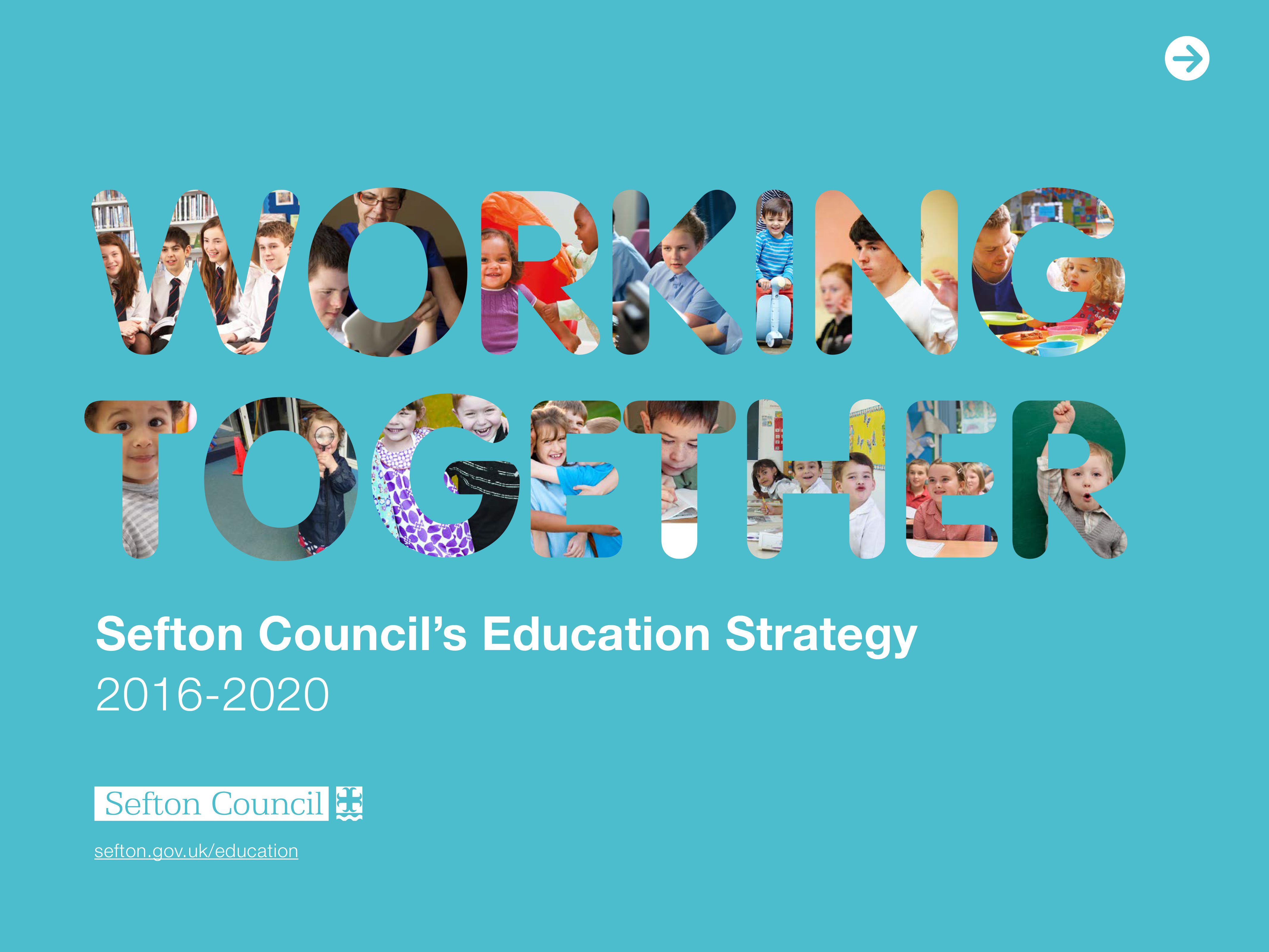 Education strategy front cover