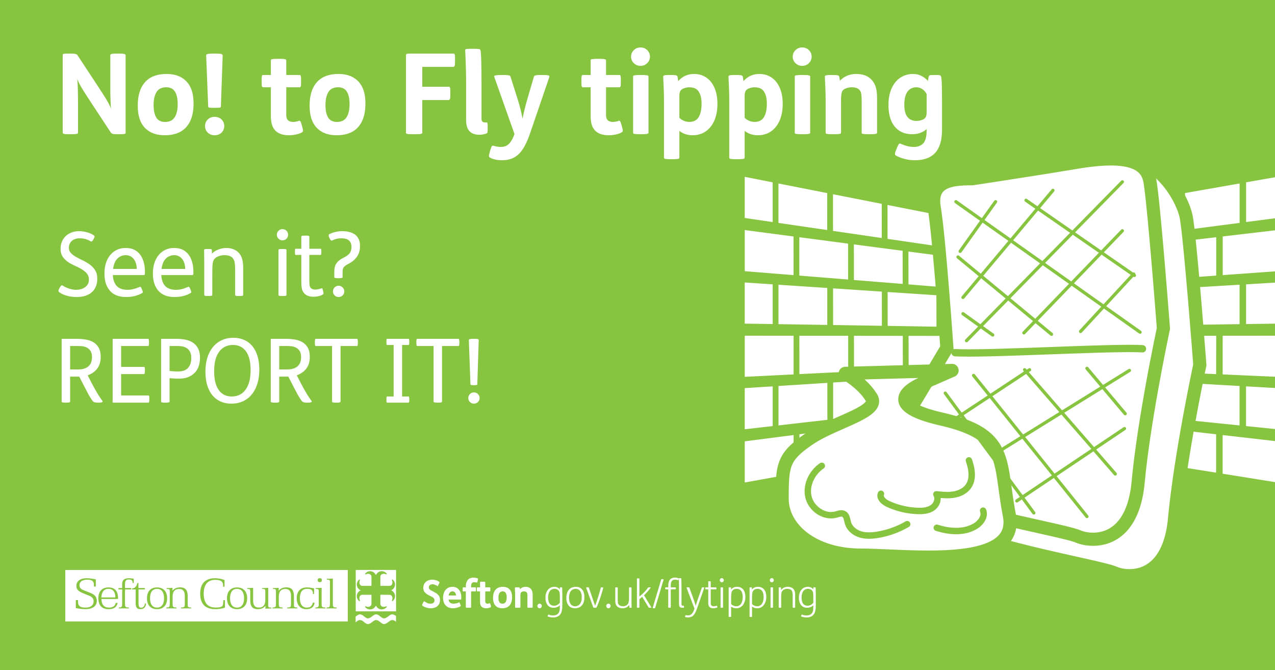 No ! To Fly Tipping