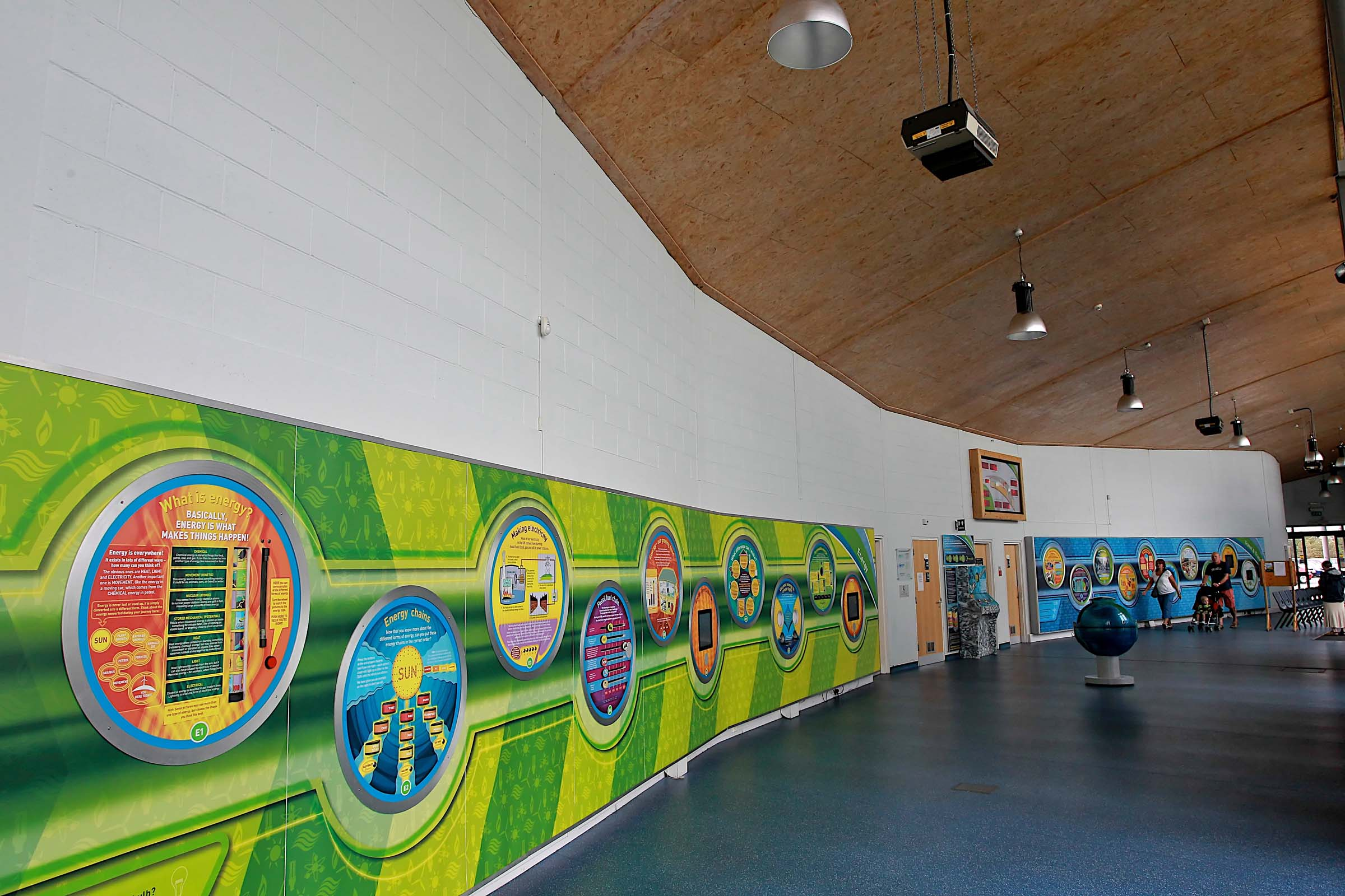 Eco centre interior